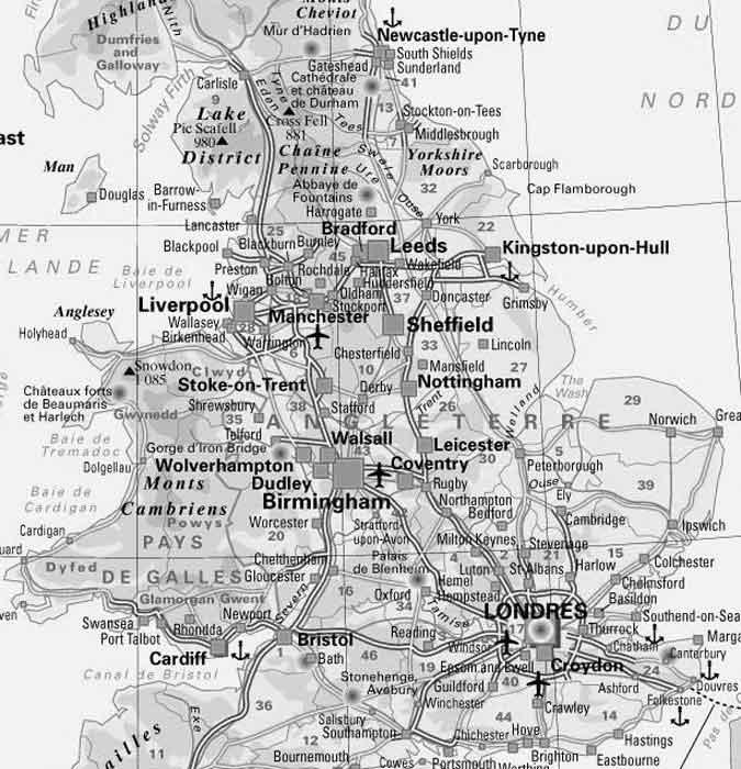 Ils Ont Choisi La Ville De Sheffield Dans Le Nord LAngleterre LEst Manchester Avec Ses 513 000 Habitants Cinquime Plus Grande Municipalit